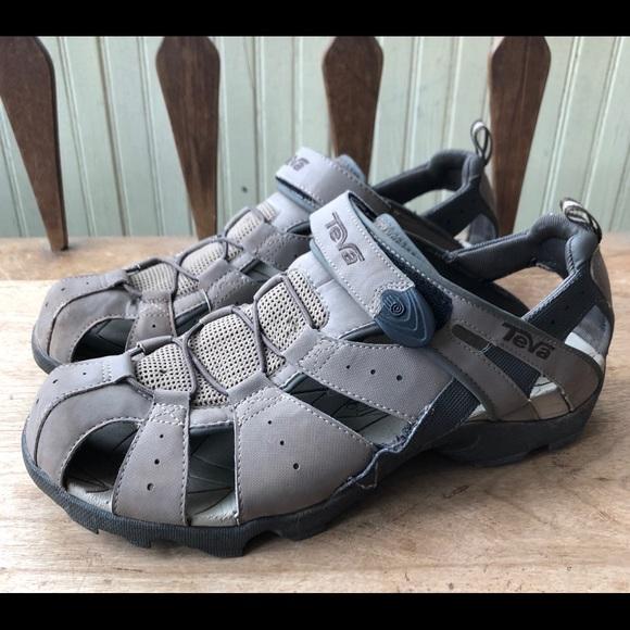 83a6f52e4a2a0 TEVA Deacon Sandals Sport Water Hiking Taupe Brown.  M 5ac41d0ad39ca23071ba920a